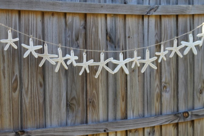 Easy Christmas Crafts - Salt Dough Starfish