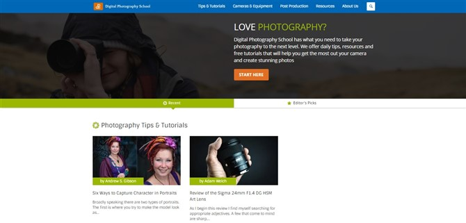 Photography Blogs - 1