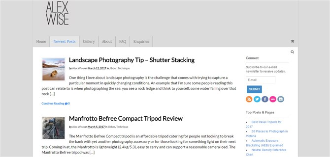Photography Blogs - 24