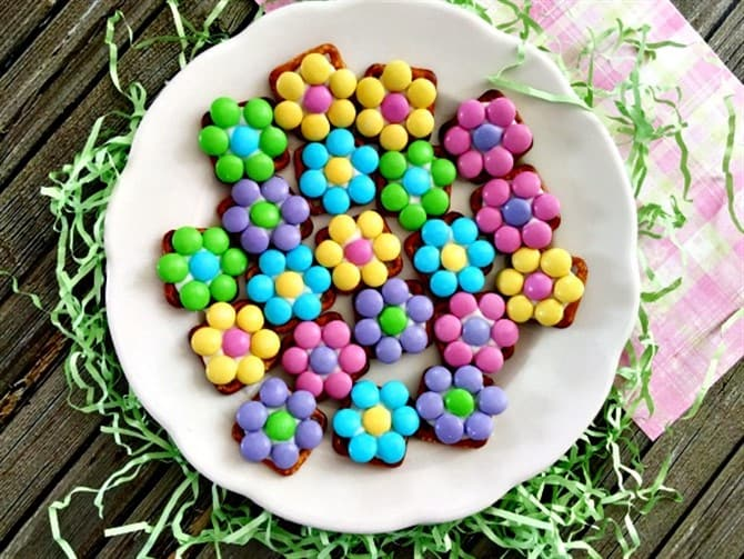 Mothers Day Crafts For Kids - Flower Bites