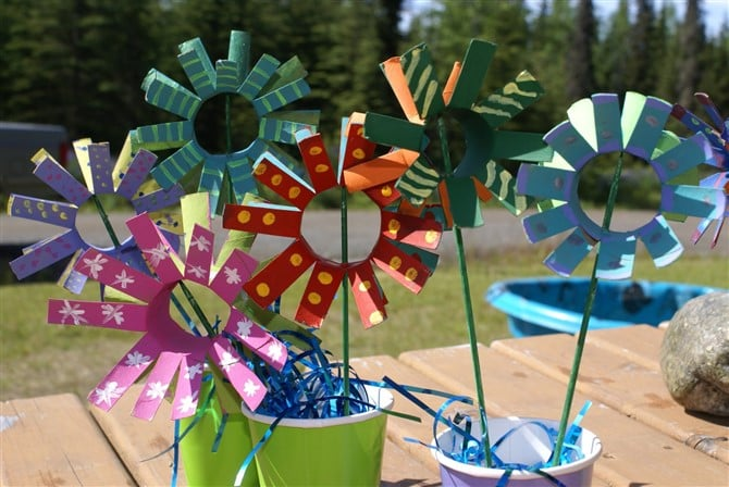 Mothers Day Crafts For Kids - Love Stems