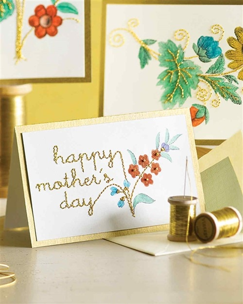 Mothers Day Crafts For Kids - Vintage Card