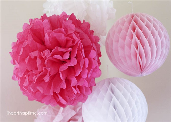 Craft Ideas For Adults - Tissue Paper Flowers