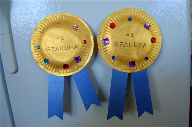 Gift Ideas For Grandparents - Award