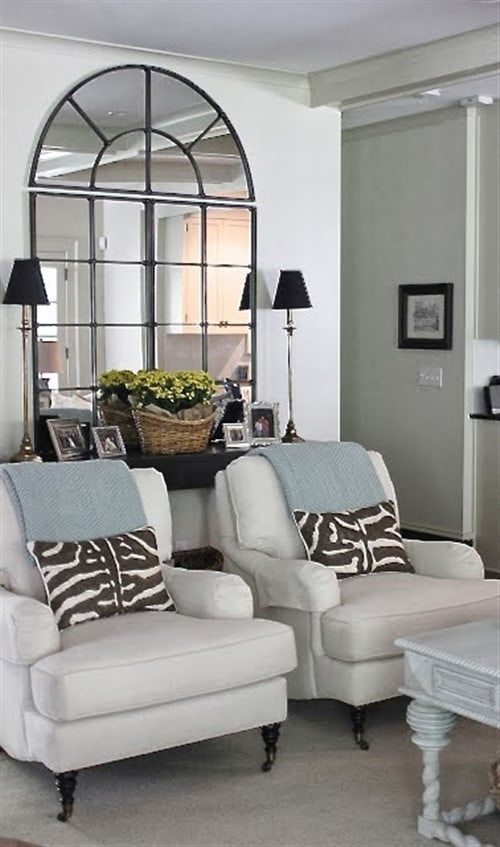 Small Living Room Decorating Ideas - Decorate With Mirrors