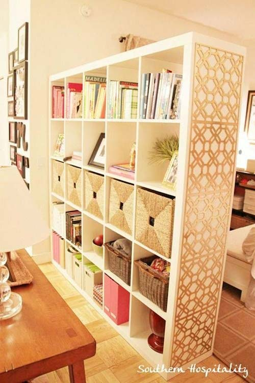 Small Living Room Decorating Ideas - Room Divider