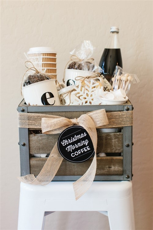 Christmas Present Ideas 2017 - Coffee Basket