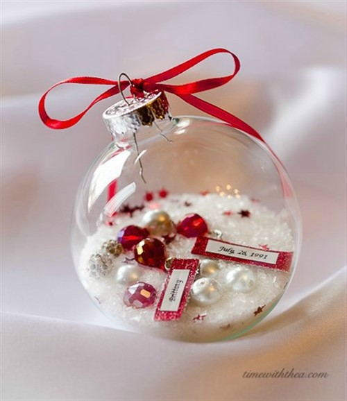 Christmas Present Ideas 2017 - Glass Ornament