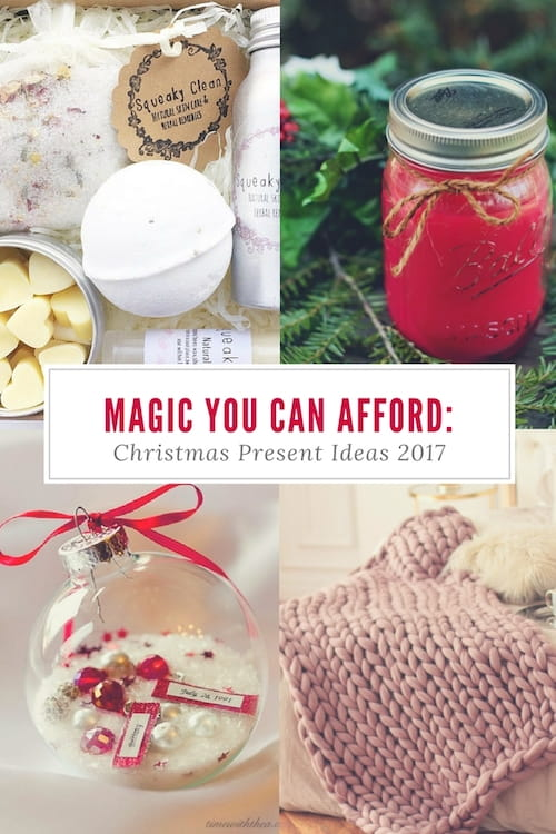 Magic You Can Afford: Christmas Present Ideas 2017