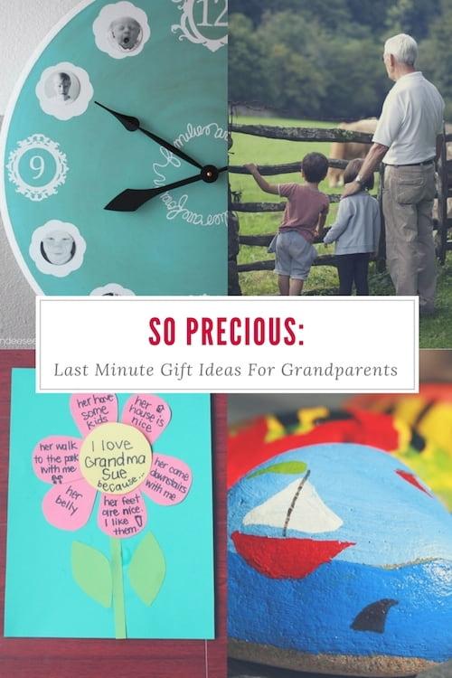 So Precious: Last Minute Gift Ideas For Grandparents