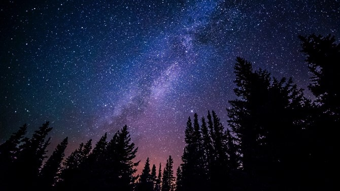 How To Photograph The Night Sky - Avoid Light Polluted Areas