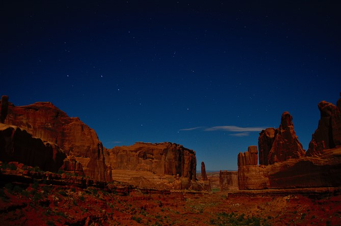 How To Photograph The Night Sky - Include Landscape