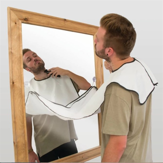Unusual Gift Ideas - Beard Buddy Shaving Apron