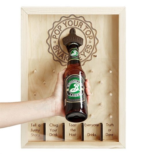 Housewarming Gift Ideas - Bottle Opener Slot Game