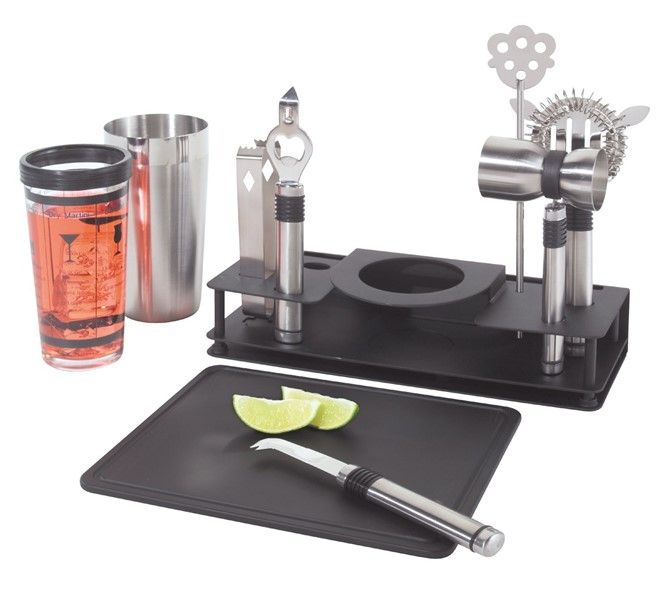 Housewarming Gift Ideas - Cocktail Shaker And Bar Tool Set
