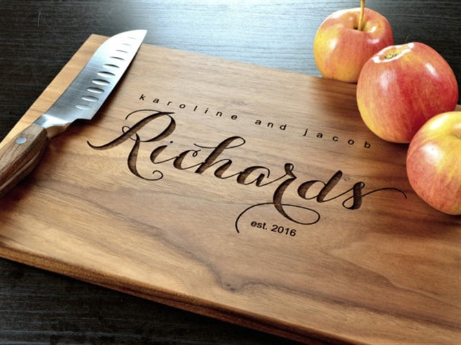 Housewarming Gift Ideas - Cutting Board