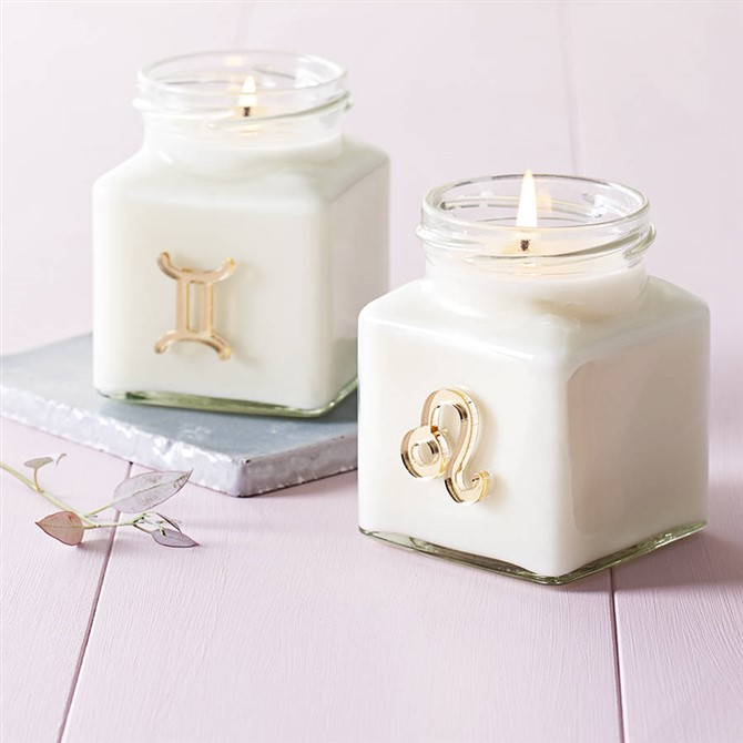 Housewarming Gift Ideas - Zodiac Sign Candle