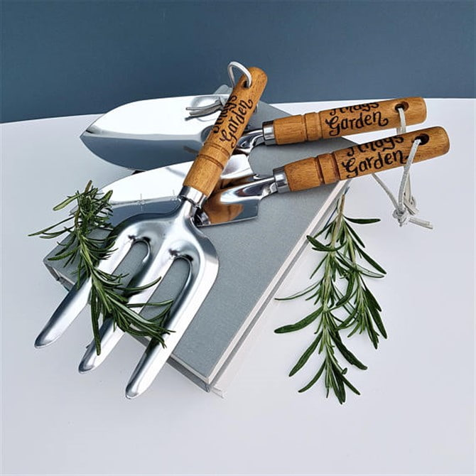 Retirement Gifts - Personalised Garden Tool