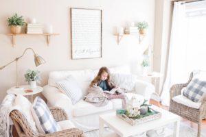 Hamptons home furnishings