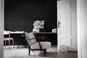 interiors trends black and white