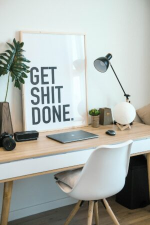 home office wall art ideas