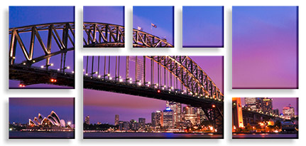 Canvas prints - Split Photo Canvas