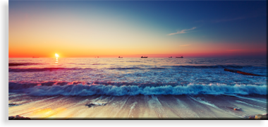 beach canvas prints canvas printers online pty ltd