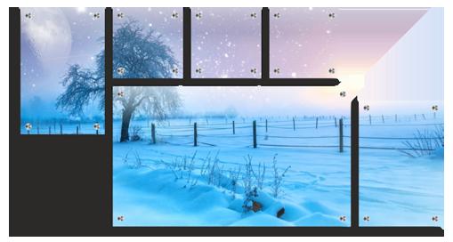 Split Glass Photo Prints - Canvas Printers Online Pty Ltd