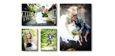 Canvas Print Wall Displays - (1) 55 x 35cm & (2) 25 x 35cm & (1) 50 x 75cm