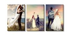 Canvas Print Wall Displays - (3) 30 x 45cm