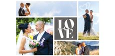 Themed Collage Photos - Love