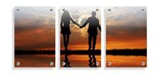 Split glass prints - (3) 30 x 45cm