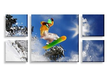 Canvas Photo Prints - split image